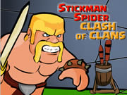 Spider Stickman Clash of Clan