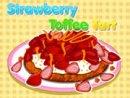 Strawberry Toffee Tart