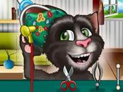 Talking Tom Cat Ear Surgery