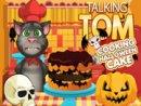 Talking Tom Cooking Halloween Cake