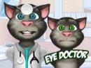 Talking Tom Eye Doctor