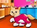 Kitty In Kitchen