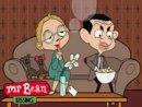 Mr Bean Kissing