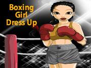 Boxing Girl Dress Up
