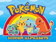 Pokemon Hidden Alphabets