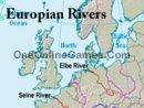 Europian Rivers Topography
