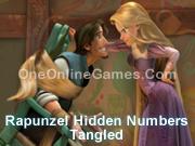 Rapunzel Hidden Numbers Tangled